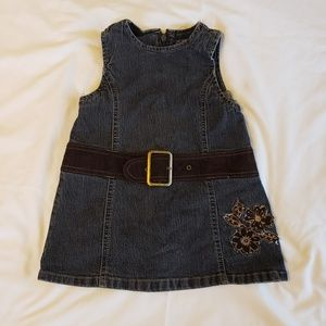 Denim dress by The Children's Place brand
